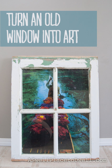 Window Wall Art Architecture + Interiors DIY + Crafts