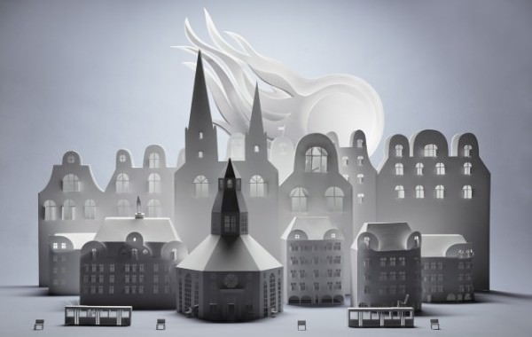 Paper Art from Swedish Artist Fideli Sundqvist Art + Graphics