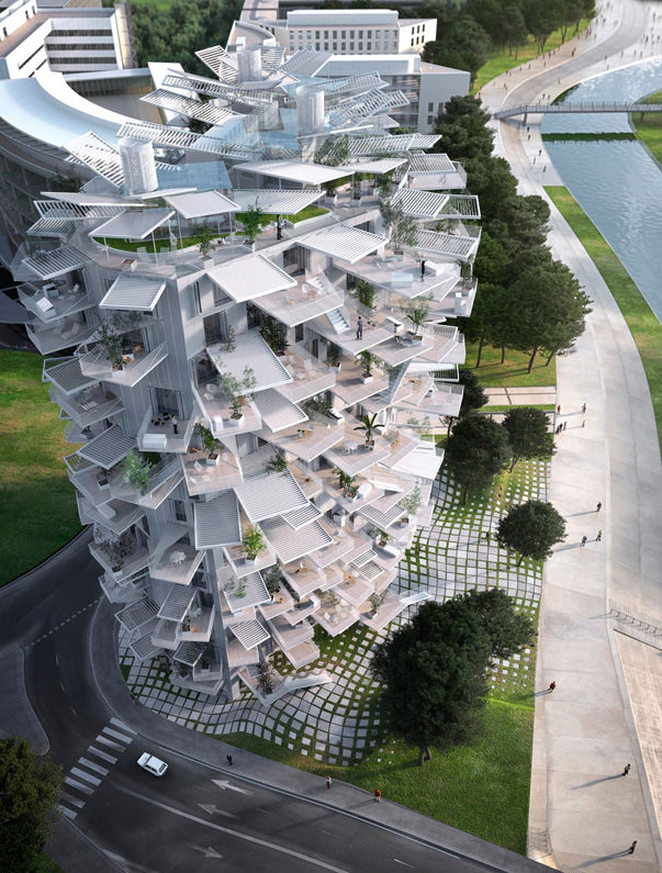 Sou Fujimoto R 17 Project In Montpellier France Gift