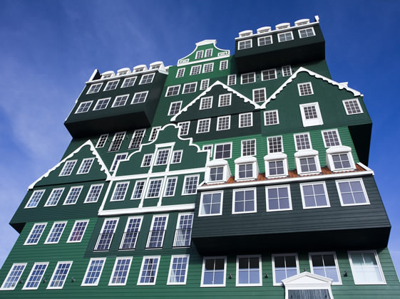 Inntel Hotel in Zaandam Architecture + Interiors
