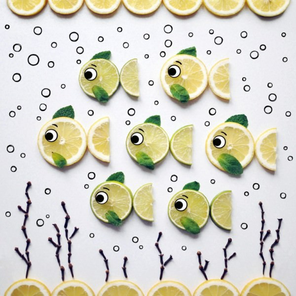 Creative Food Art by Daryna Kossar Creative Fooding