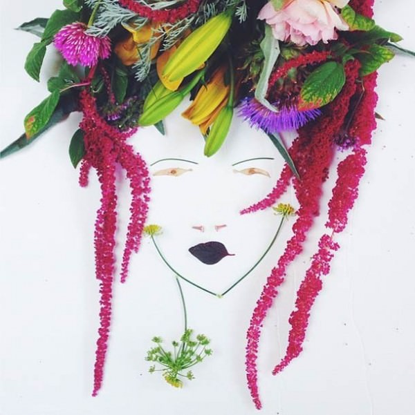 Flower Portraits by Justina Blakeney Art + Graphics