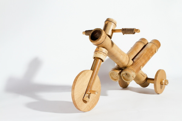 Bamboo Tricycle by A21 Studio Design Sustainability