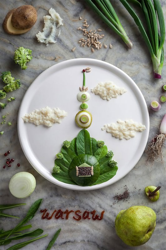 Food Art by Anna Keville Joyce & Agustín Nieto Creative Fooding