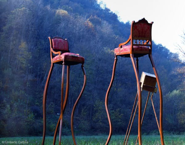 Surreal Oversized Furniture by Designer Umberto Dattola Art + Graphics