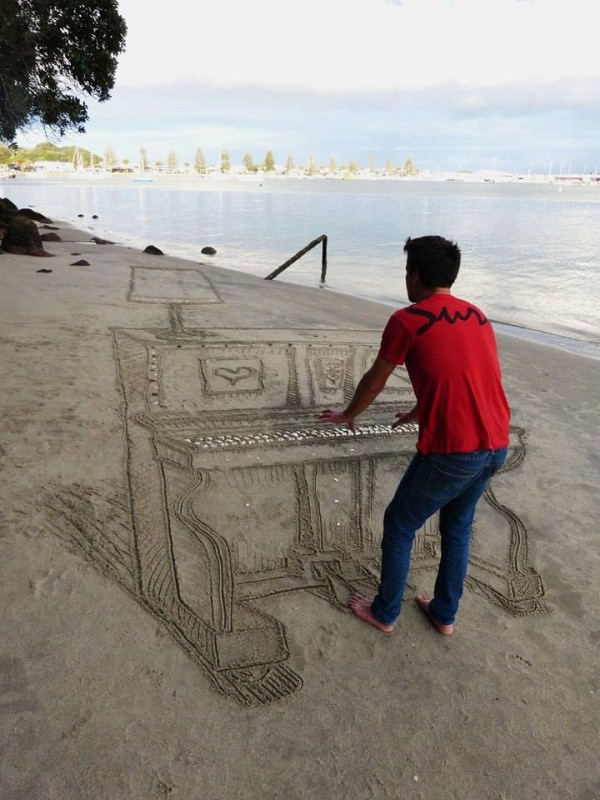 Beach Art by Jamie Harkins Art + Graphics