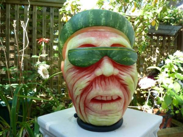 Watermelon Carving By Clive Cooper Creative Fooding