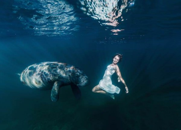 Beautiful Underwater Photos by Elena Kalis Photography