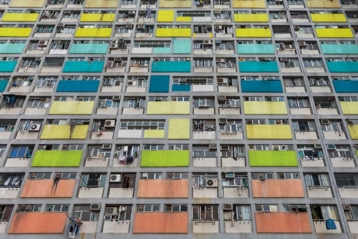 Hong Kong Urban Architecture Seen by Peter Stewart Photography