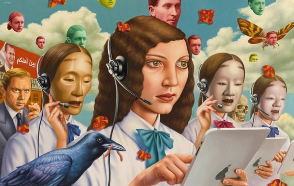 Alex Gross: Future Tense Art + Graphics