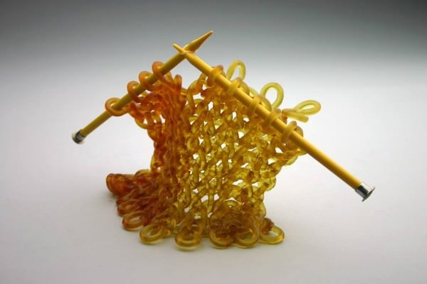 Carol Milne Knits With Glass Art + Graphics