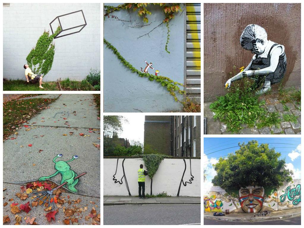 When street art meets urban nature gift ideas creative for Urban nature