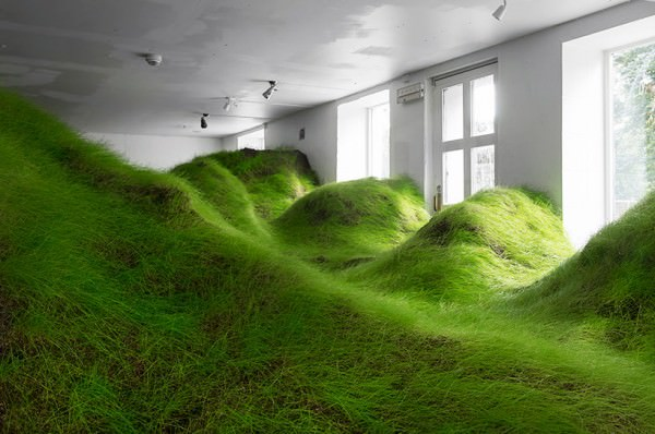 Amazing Landscape Installation by Kristian Nygard in Oslo Art + Graphics