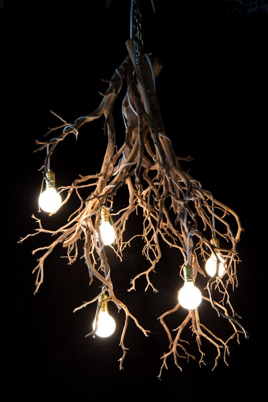 Whimsical Tree Branch Chandeliers Architecture + Interiors