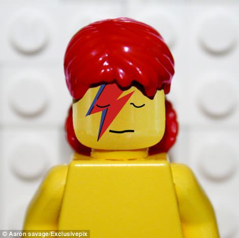 Legendary Album Covers Recreated in Lego by Aaron Savage Art + Graphics