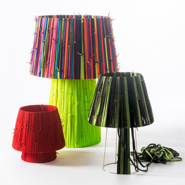 Shoelaces Lamps by Curro Claret Design