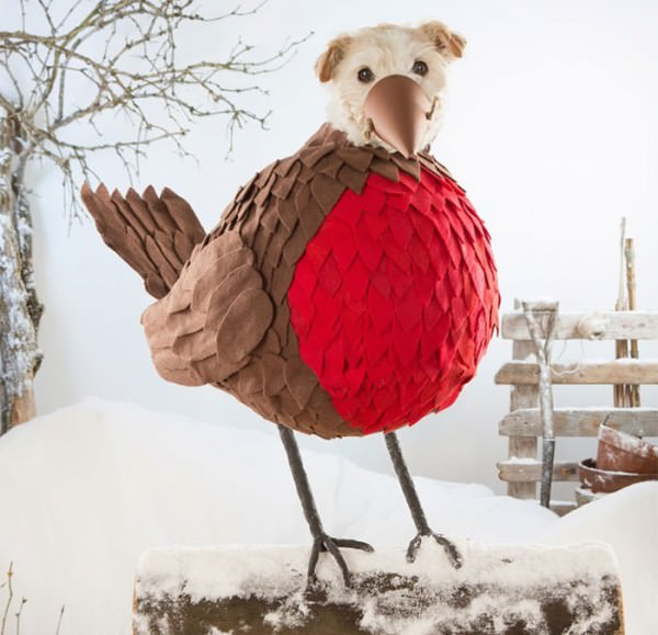 Every Year for Christmas, Photographer Peter Thorpe Dresses Up His Dog Animals + Nature Photography