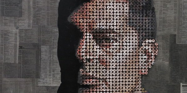 Painted Screw Portraits by Andrew Myers Art + Graphics