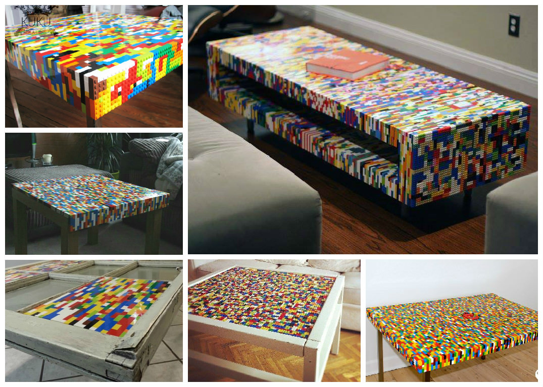 Lego Is Not Just Child's Play, You Can Make Coffee Tables ...
