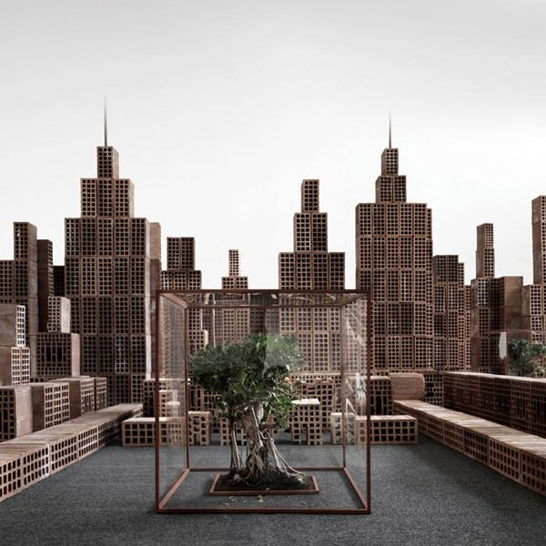 Bricks Cityscapes by Matteo Mezzadri Art + Graphics Photography