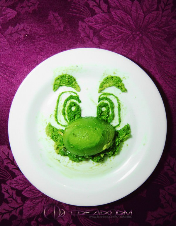Avocado Drawings by Boris Toledo Doorm Art + Graphics Creative Fooding