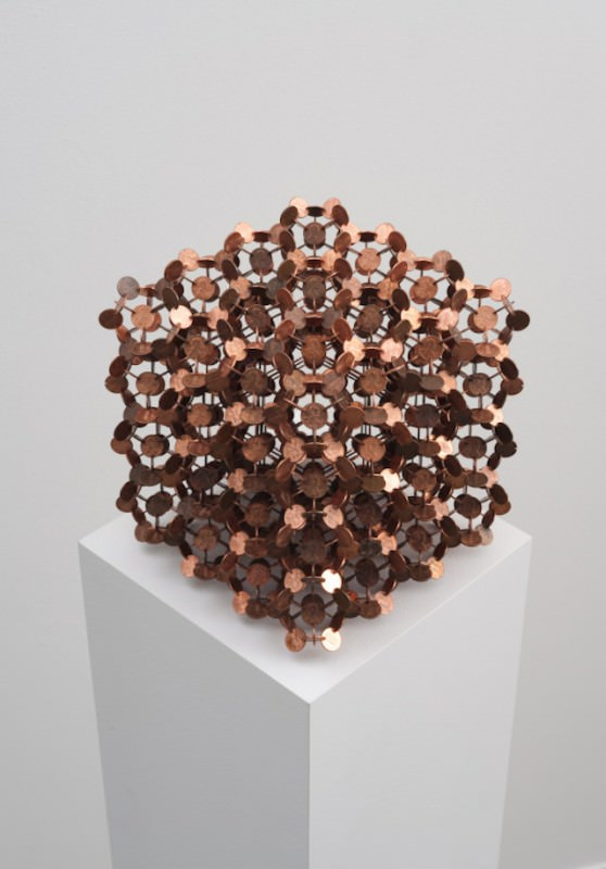 Geometric Coin Sculptures by Robert Wechsler Art + Graphics