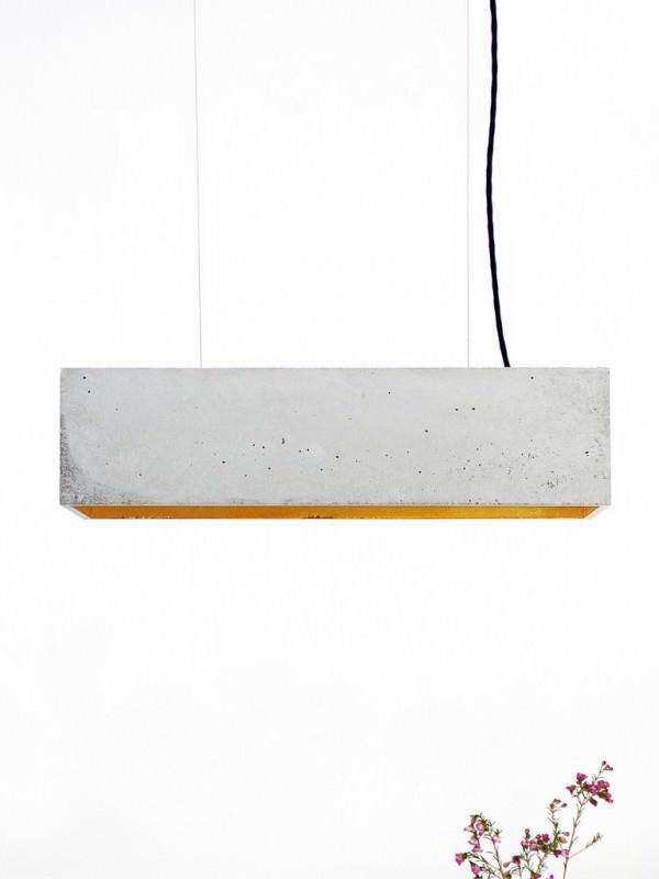 Minimalist Concrete Pendant Lamp by Gantlight Design