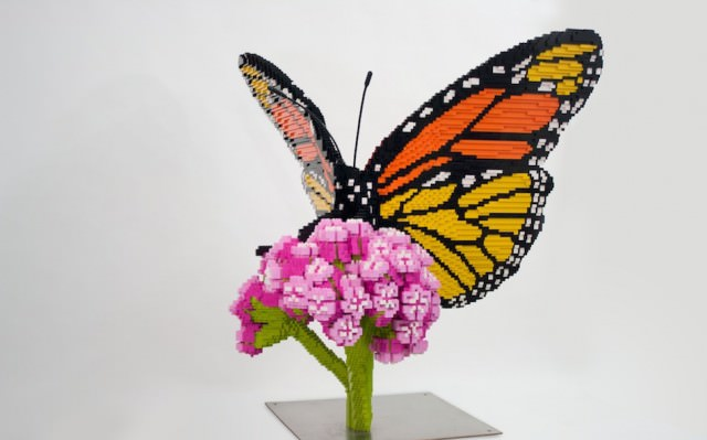Lego Sculptures Inspired by Nature Art + Graphics