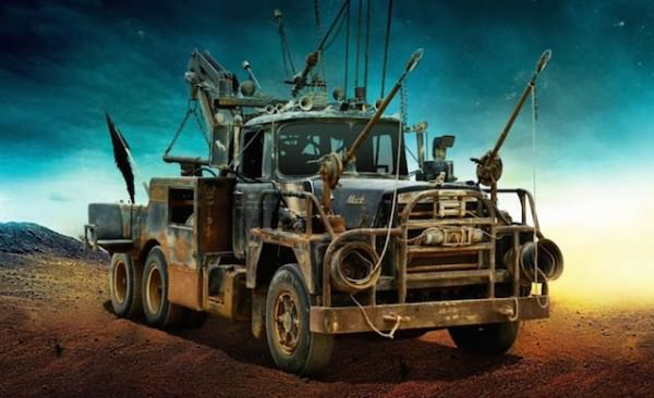 The Cars of Mad Max Fury Road Art + Graphics