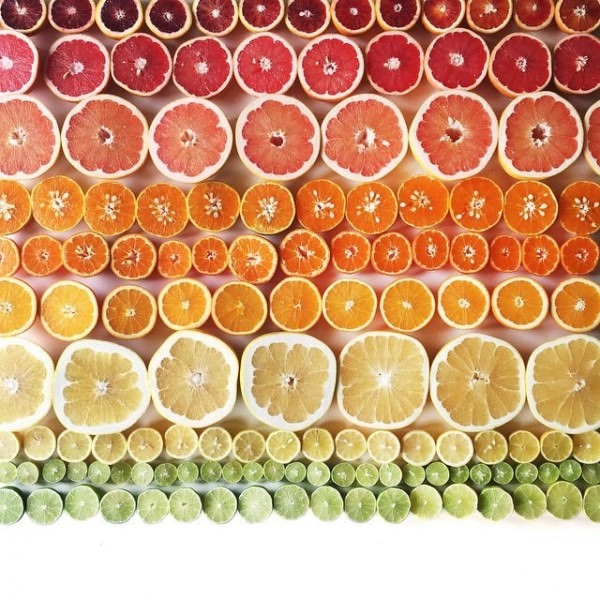 Gradient Food Photography By Brittany Wright Photography