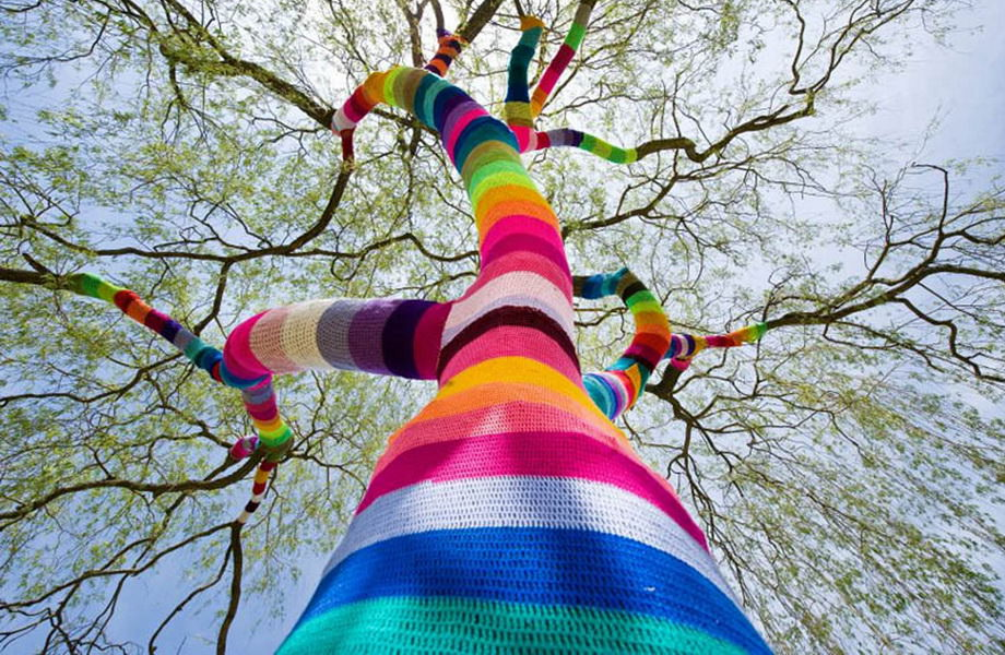 45 Yarn Bomb Pictures To See The Creativeness Of Urban Knitting Trend | Gift Ideas