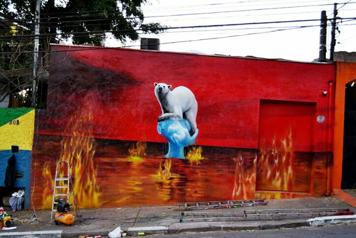 Street Art That Face Climate Change Art + Graphics