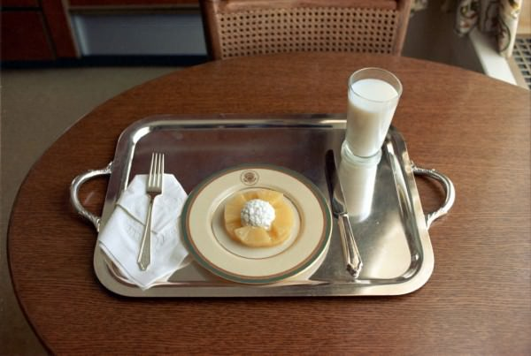 Richard Nixon Last Lunch Before His Resignation Photography