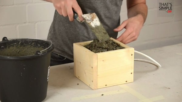 Diy: Concrete Lamp (Video Tutorial) Architecture + Interiors DIY + Crafts