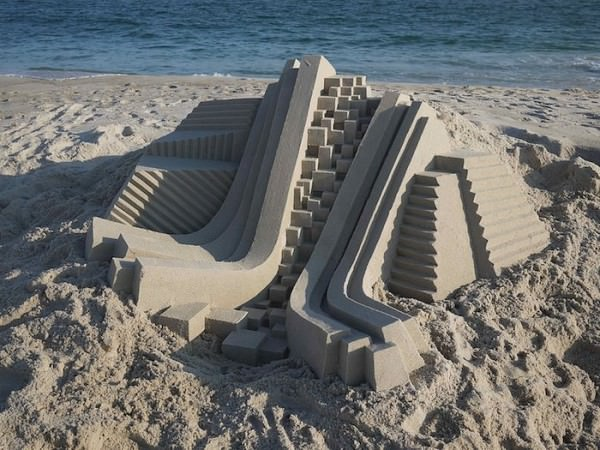 Impressive Sand Castles By Calvin Seibert Art + Graphics
