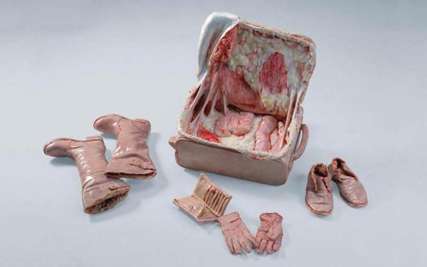 Flesh Sculptures by Cao Hui Art + Graphics