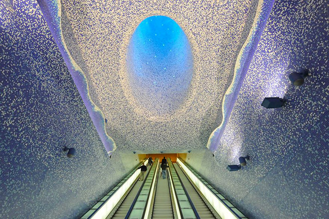 Discover The 10 World's Most Beautiful Subway Stations Photography