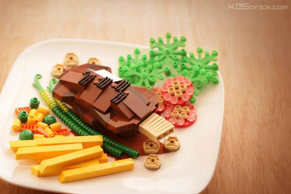 Daily Objects Created with Lego by Kosmas Santosa Art + Graphics