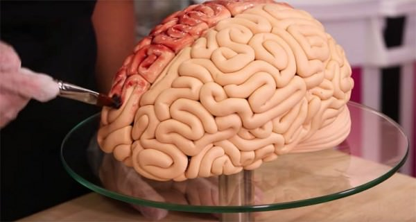 How To Create A Brain-shaped Cake For Halloween Creative Fooding