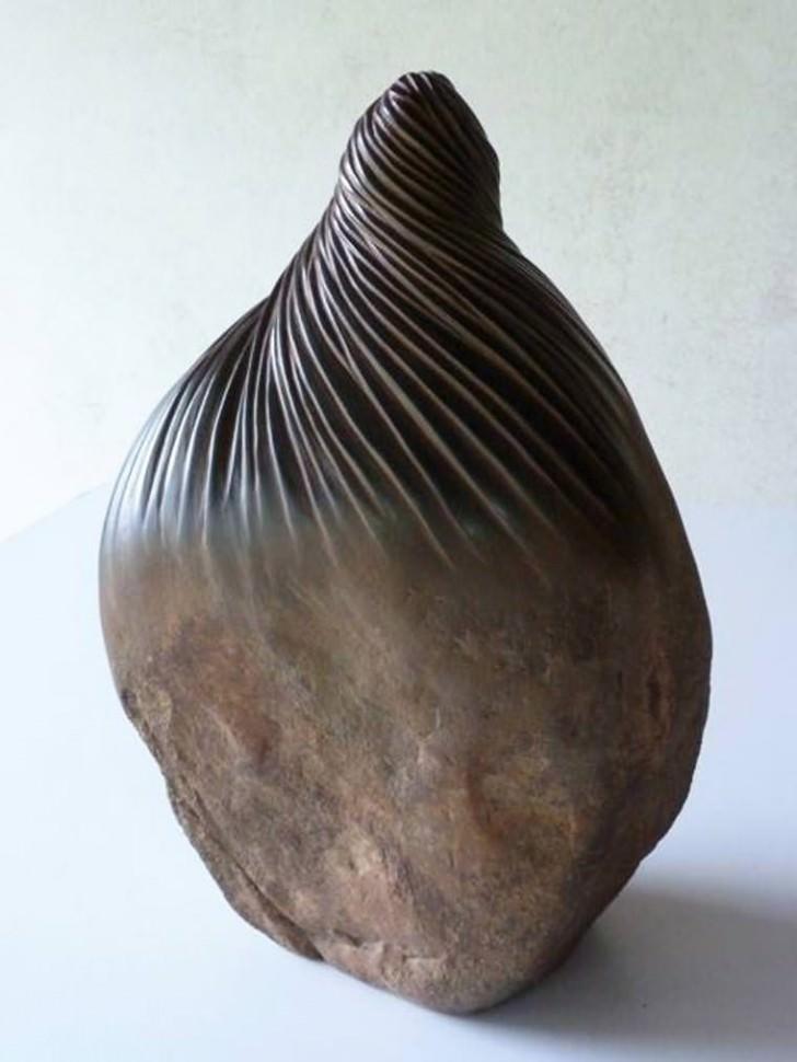 Stones Turned into Organic Shaped Art By José Manuel Castro López Art + Graphics