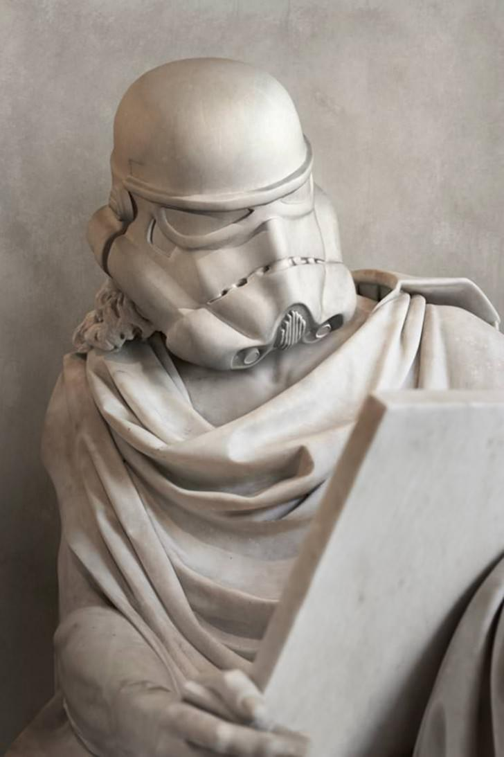 Starwars Iconic Characters As Ancient Greek Statues By Travis Durden Art + Graphics