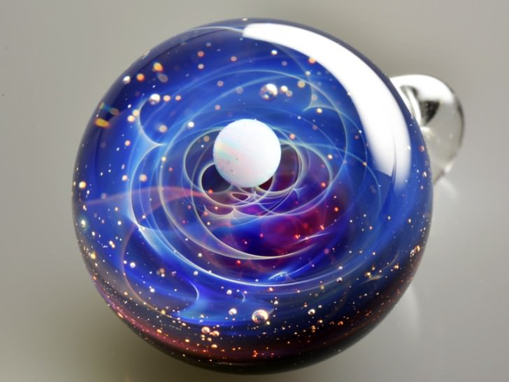 Planetary Systems In Glass Beads By satoshi Tomizu Art + Graphics