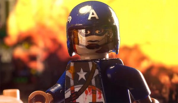 Lego Captain America Vs. Nazi Zombies Geek Universe