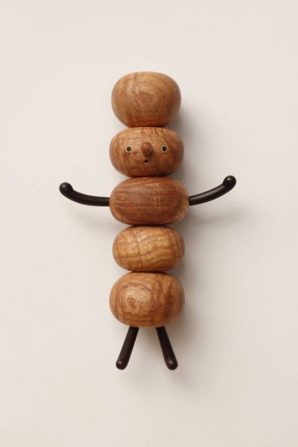 Cute Tiny Wood snowmen Art + Graphics Sustainability