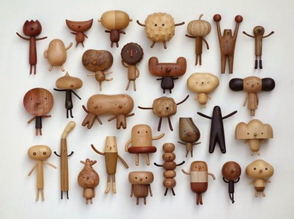 Cute Tiny Woodsnowmen Art + Graphics Sustainability