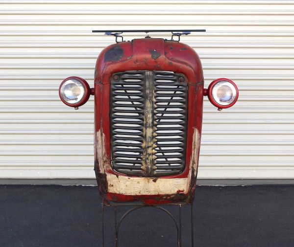 Beautiful Massey Ferguson Tractor Upcycled Into Design Bar Design
