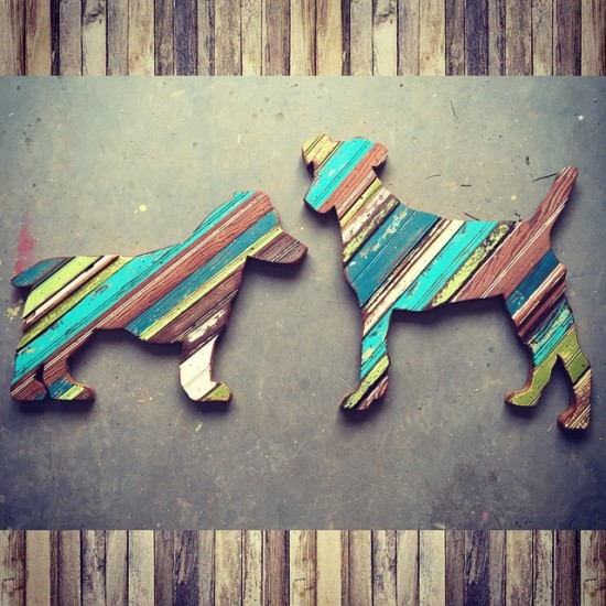 Funky Reclaimed Wood Art Sustainability