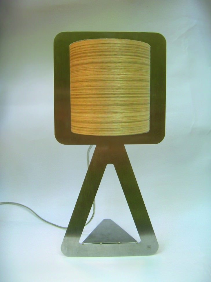 Simple Musical Inox Table Lamp Architecture + Interiors Design