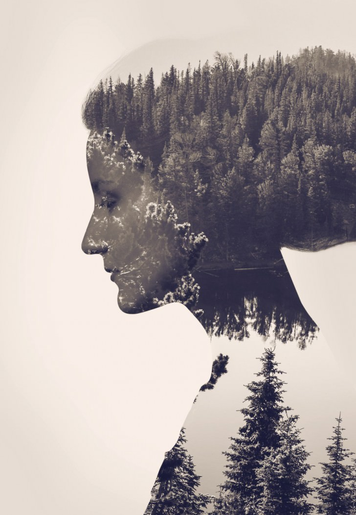 Amazing Use of the Double Exposure Effect Art + Graphics