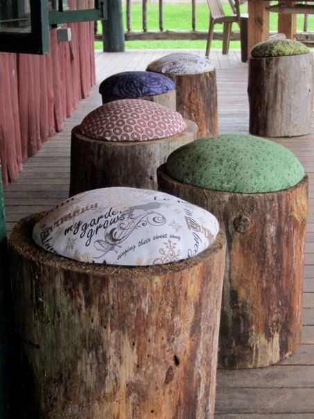 Diy Wood Stools Architecture + Interiors